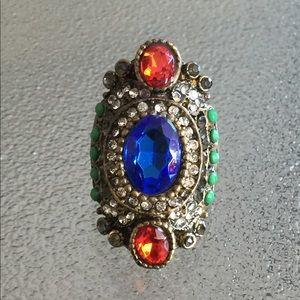 Gorgeous boho ring!! Size-10 1/2